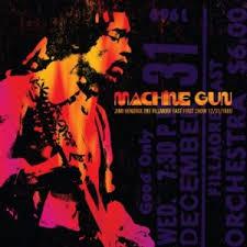 <b>Machine</b> Gun: The Fillmore East First Show - Wikipedia