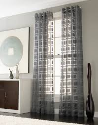 Modern Bedroom Curtains If We Add Curtains To Any Windows Othello Modern Geometric