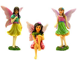 Fairy <b>Garden</b> Supplies <b>4 Piece</b> Door can open wide Fairy Tree ...