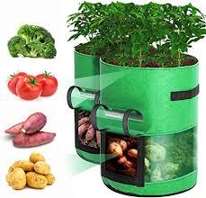 Rouffiel Grow Bags Upgrade, 2 Pack 10 Gallon Potato ... - Amazon.com