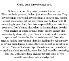 guys have feelings too | Quotes | Pinterest | Feelings and Guys via Relatably.com