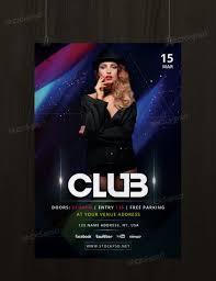 club event template psd flyer com get club event psd flyer template