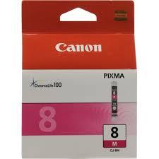 Оригинальный <b>картридж</b> Canon <b>CLI</b>-<b>8M</b> (пурпурный) Пурпурный ...