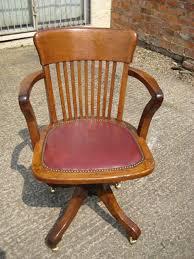 oak swivel and tilt desk chair antique desk chairs antique oak office chair