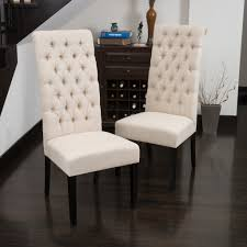 fabric dining chairs home