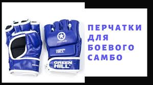 <b>Перчатки GreenHill для</b> боевого самбо. Обзор - YouTube