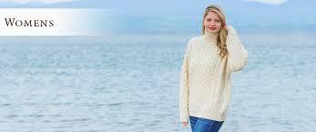 Ladies <b>Sweaters</b>, Cable Knit, Cardigans | Aran <b>Sweater</b> Market