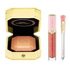 <b>Too Faced Canary Diamond</b> Highlighter with Brush & Gloss - 8913949