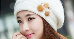 Rabbit fur <b>beret hat</b> for <b>women</b> winter wear | Leave Your <b>Hat</b> On ...