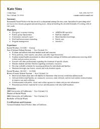 resume templates for social workers  seangarrette coresume templates
