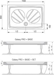 <b>Поддон</b> для душа <b>Ravak Gigant Pro</b> 110x80 купить в магазине ...