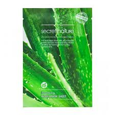 <b>Тканевая маска</b> Secret Nature Soothing Aloe Mask Sheet – купить в ...
