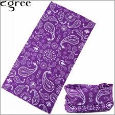 C.gree <b>Winter Fleece</b> Headband Purple kerchief <b>Bicycle Multi</b> ...