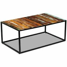vidaXL <b>Table</b> basse <b>Table</b> basse Salon <b>100x60x40</b> cm en bois ...