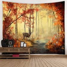 Maple Leaf Pattern Home Tapestry Sale, Price & Reviews | Gearbest