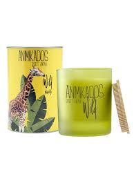<b>Свеча ароматическая</b> Giraffe - водная лилия Wild 40 ч <b>Ambientair</b> ...