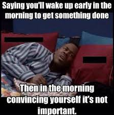 Funny Memes - Waking up early - Funny Memes via Relatably.com