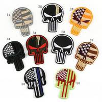 Wholesale <b>Punisher Skull Patch</b> for Resale - Group Buy Cheap ...