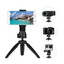 Andoer Folding <b>Mini Tripod Stand</b> Phone Camera Portable Tabletop ...
