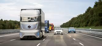 Autonom fahrender Truck von Daimler