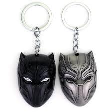 10 шт./лот <b>Marvel Comics</b> черный пантера <b>брелок</b> для ключей ...