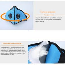 Outdoor <b>Cycling Mask</b> KN95 Anti-dust Half Face <b>Masks</b> Active ...