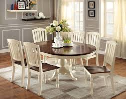Cottage Style Kitchen Tables Furniture Of America Rylie Cottage Style 5 Piece Dining Table Set