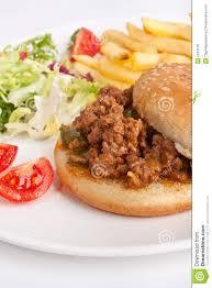 viande hachée avec les frite images?q=tbn:ANd9GcS