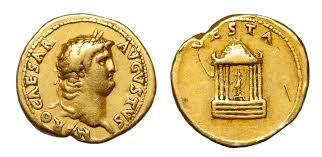 <b>Nero</b>, <b>Gold</b> Aureus | Baldwin's