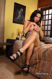 TS Pornstar Jaquelin Braxton Jaquelin Braxton squishes her big shemale titties together