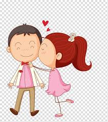 <b>Girl kissing</b> boy on cheek , <b>Kiss</b> Cartoon , Cartoon couple ...