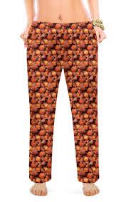 """Женские пижамные штаны """"<b>Дикая малина</b>"""" #2617985 от piranya ..."""
