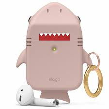 Купить <b>чехол</b> elago shark <b>case</b> для airpods розовый (sand pink) в ...