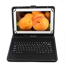 Vox <b>Leather</b> Keyboard <b>Case for</b> All 7 inch <b>Tablets</b> (Black) - Buy Vox ...