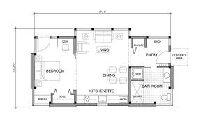 Unique sq ft Small House Tiny House Design Concept by FabCabFabcab timbercab floor plan