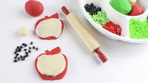 Apple <b>Playdough Recipe</b> | Little Bins for Little <b>Hands</b>