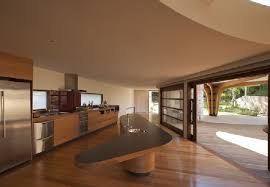 kitchen furniture and layout design at lilypad house by jorge hrdina architects architecture furniture design