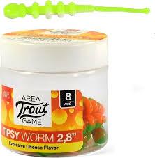 <b>Приманка Lucky John</b> Слаги съедобные <b>Lj</b> Pro Series Tipsy Worm ...
