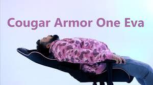 Обзор <b>компьютерного кресла Cougar Armor</b> One Eva: Разрушая ...