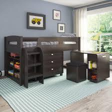 bedroom bunk beds wayfair shop for kids full loft carpet and cream bedroom black furniture sets loft beds