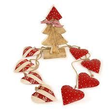 <b>Гирлянда подвесная Red</b> Hearts, 4 шт. от <b>Enjoyme</b> (арт ...