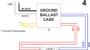 ballast wiring diagram annavernon allanson fluorescent ballast wiring diagram