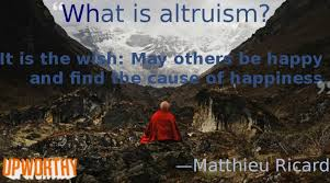 Memeing Altruism with Matthieu Ricard | The Viral Media Lab via Relatably.com