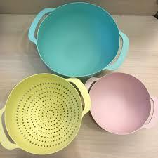 Набор для кухни 3 в 1 (<b>миска</b> 4,5л; дуршлаг 22см мм; <b>миска</b> ...