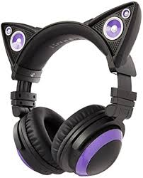 Buy Wired <b>Cat</b> Over-Ear <b>Headphones</b> Online at Low Prices in India ...