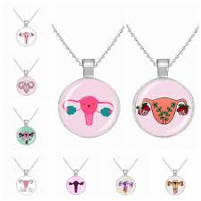 <b>2019 new design</b> uterine womb necklace pendant Cute <b>cartoon</b> ...