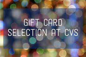 A List of Gift Cards Available at CVS - Holidappy
