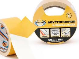 <b>Лента клейкая</b> двусторон-я 50мм*10м <b>ТК</b> AVIORA/36 303-006 ...