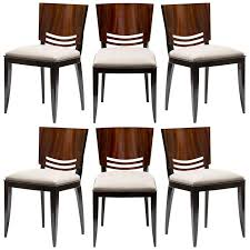 stunning french art deco dining chairs at 1stdibs art deco dining chairs