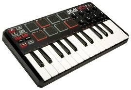 <b>MIDI</b>-<b>клавиатура AKAI</b> MPK Mini — купить по выгодной цене на ...